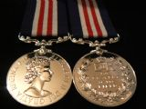 MILITARY MEDAL EIIR FULL SIZE REPLACEMENT COPY MEDAL